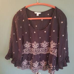 American Eagle peasant blouse